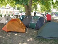Haller-Camping in Budapest