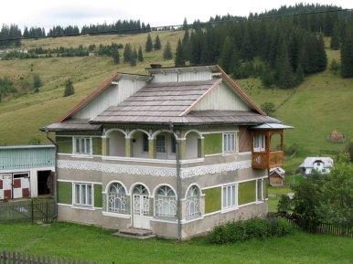Feine Häuser findet man hier häufig.