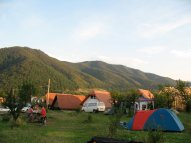 Campingplatz Ananas.