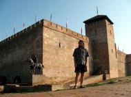 Eine kleine Burg, mitten in Gyula.