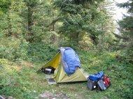 Und wieder mal... das Zelt ;)