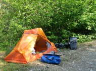 Marmot EOS 2P - das Zelt ist freistehend