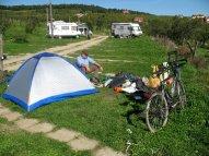 "Campingplatz ""Ananas"" nahe Sibiu in Cisnadiora."