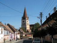 Sehr schöne Wehrkirche in Cisnadie, nahe Sibiu.