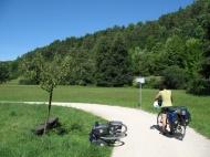 Der Radweg durch das Tal der Pegnitz