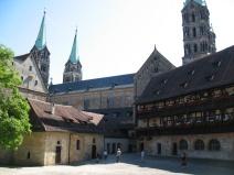 Die alte Kaiserpfalz in Bamberg.