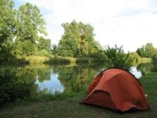 Der Campingplatz in Bamberg - echt sehr schön dort.