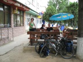 2007 hab ich in diesem Cafe in Stei schon mal einen Kaffee getrunken....