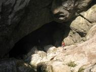 Ohja! Hier gehts rein zur Höhle!