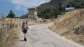 Der Weg nach Xanthos.