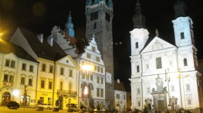 Tschechischer Marktplatz. Herrlich.