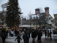 Anschließend ein Besuch des Weihnachtsmarktes in... weiß ich auch nicht mehr. Irgendwo an der Bergstraße oder derlei Gegenden... ;)